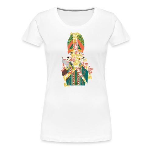G'sab - Arab Queen of Crosses - Women's Premium T-Shirt