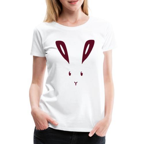 Hase Kaninchen Häschen Osterhase Feldhase bunny - Frauen Premium T-Shirt