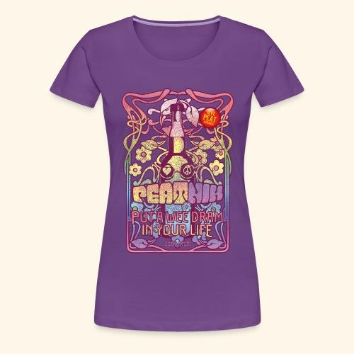 Whisky T Shirt Peatnik für Whiskykenner - Frauen Premium T-Shirt