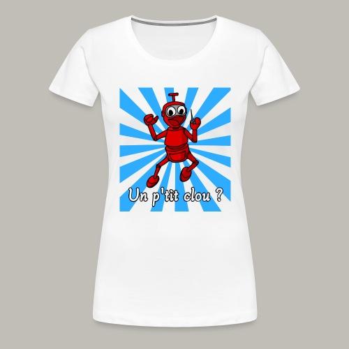 Back to 80's blue - T-shirt Premium Femme