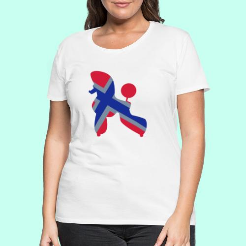 Pudel Poodle - Frauen Premium T-Shirt