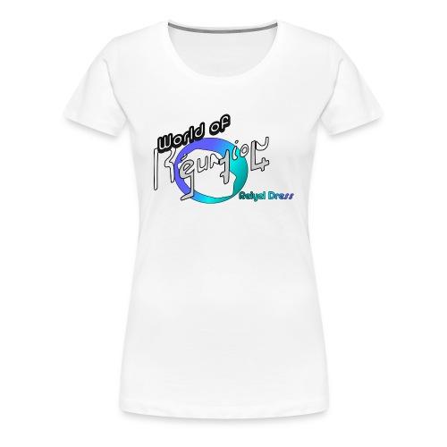 world of reunion - T-shirt Premium Femme