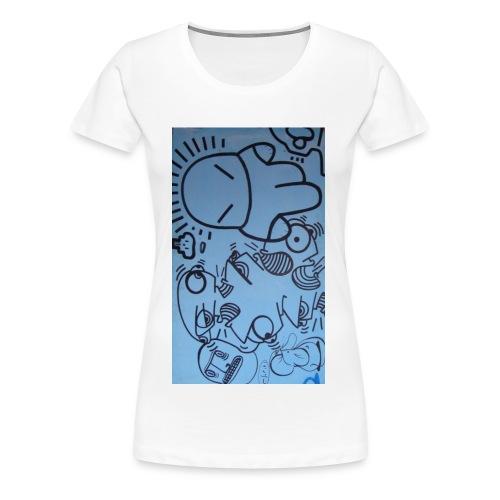 Der Astronaut - Frauen Premium T-Shirt