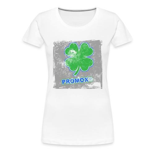 trébol de la buena suerte - Camiseta premium mujer