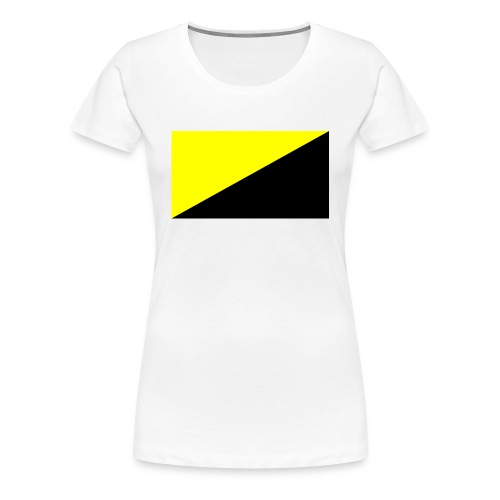 Anarcho capitalist flag big - Premium-T-shirt dam