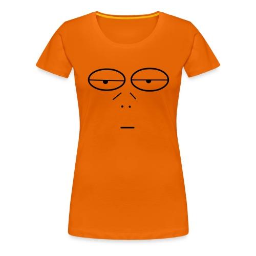 Volto Lenzuolo - Maglietta Premium da donna