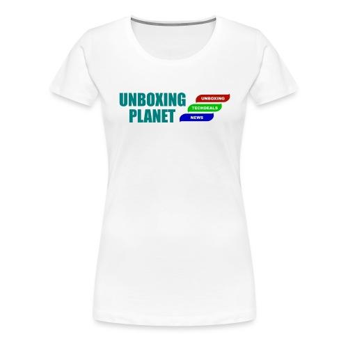 UnboxingPlanet Logo 2 - Frauen Premium T-Shirt