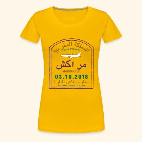 marrakeche - T-shirt Premium Femme