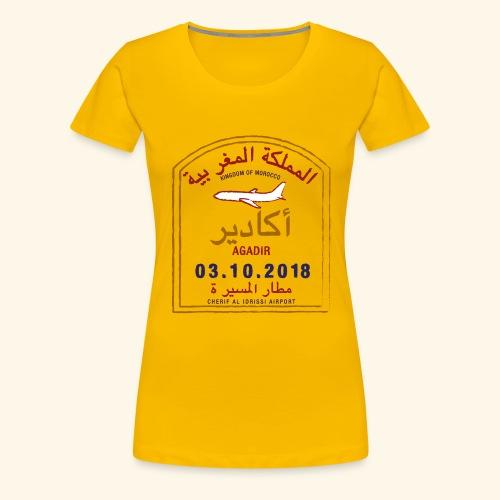 Agadir - T-shirt Premium Femme