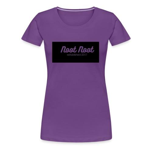 Noot Noot established 2017 - Women's Premium T-Shirt