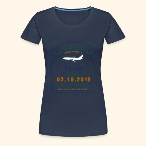 Tanger - T-shirt Premium Femme