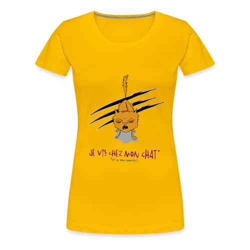 je vis - T-shirt Premium Femme