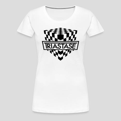 Triastase Logo Black - Women's Premium T-Shirt