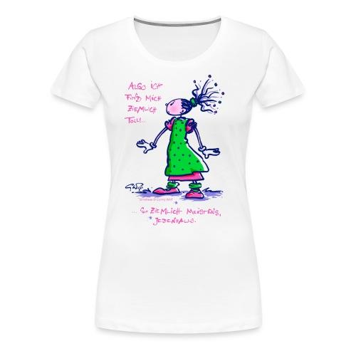 Stineliese...ziemlich toll! - Frauen Premium T-Shirt