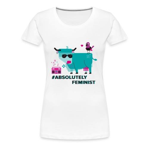 Absolutely Feminist (f) - Frauen Premium T-Shirt