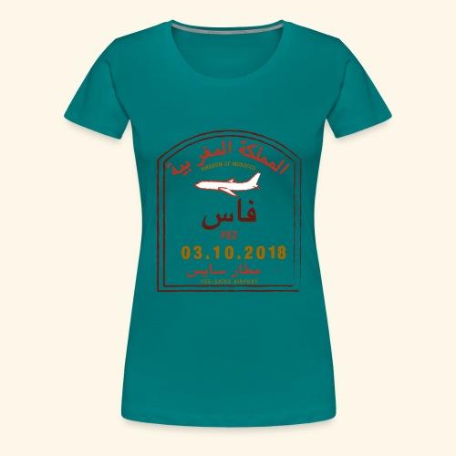 aéroport fes saiss - T-shirt Premium Femme