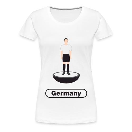 Germany Football - Women's Premium T-Shirt
