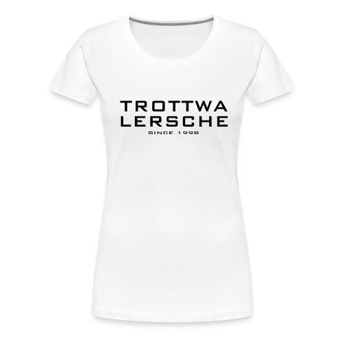 gtlshirt frontarm - Frauen Premium T-Shirt