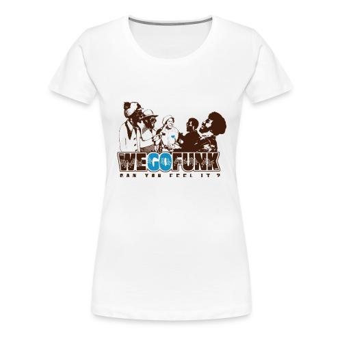 Logo Wegofunk - T-shirt Premium Femme