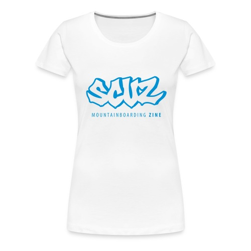 Simple Scuz Logo - Women's Premium T-Shirt