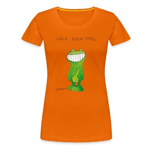 Janoschs Günter Kastenfrosch Just Smile - Frauen Premium T-Shirt