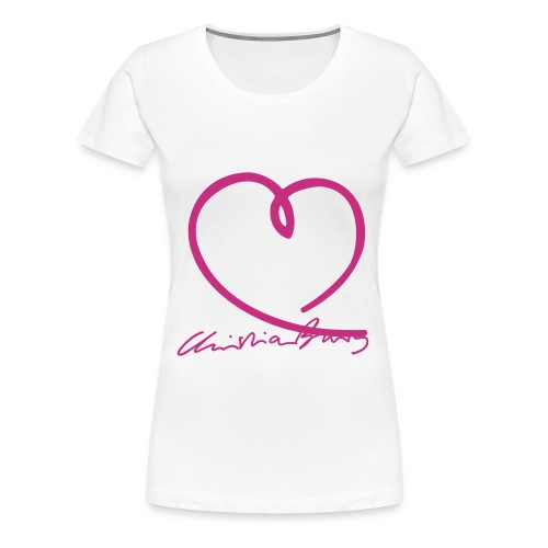 burg autogr4fett - Frauen Premium T-Shirt