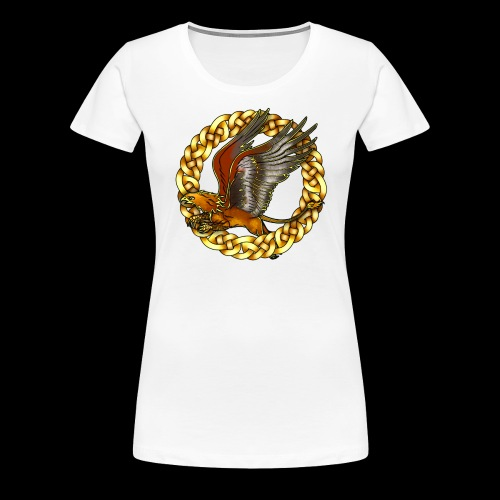 Golden Gryphon - Women's Premium T-Shirt
