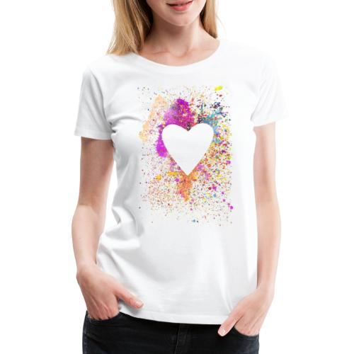 feel the beat... - Frauen Premium T-Shirt