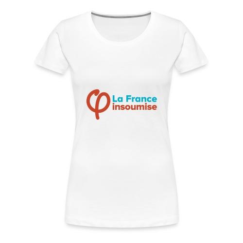 LA FRANCE INSOUMISE - T-shirt Premium Femme