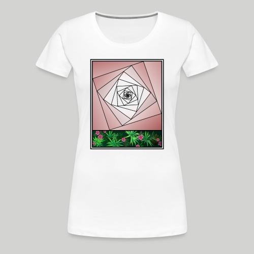 Unendlichkeitsrose - infinity rose - Frauen Premium T-Shirt