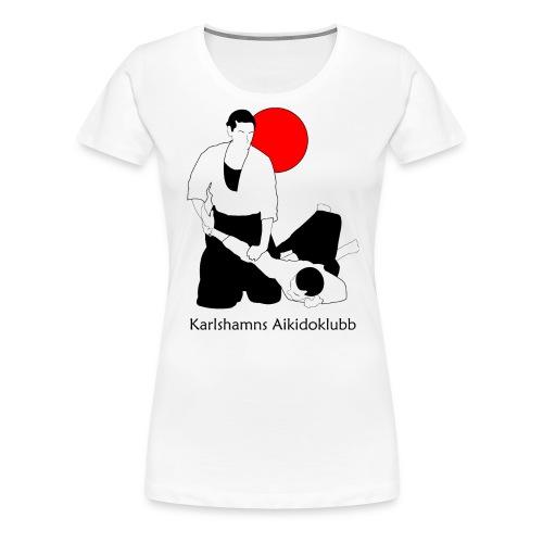 ikkyo med sol och text 4000 - Premium-T-shirt dam