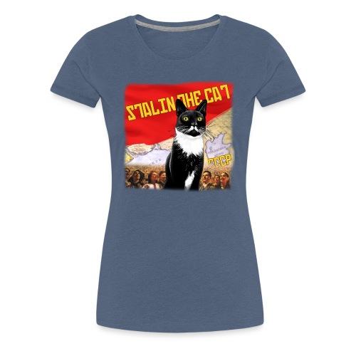 stalinthecat png - Women's Premium T-Shirt