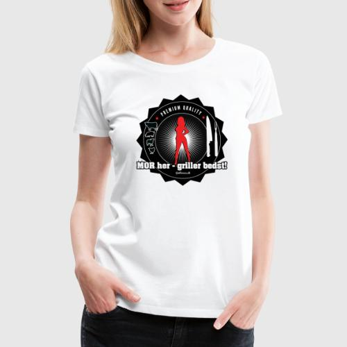 MOR HER png - Dame premium T-shirt