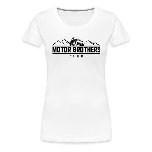 mb_club_black - Frauen Premium T-Shirt