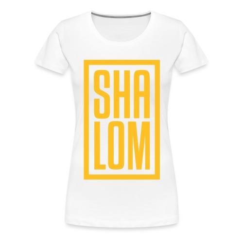 SHALOM OFFICIEL - T-shirt Premium Femme