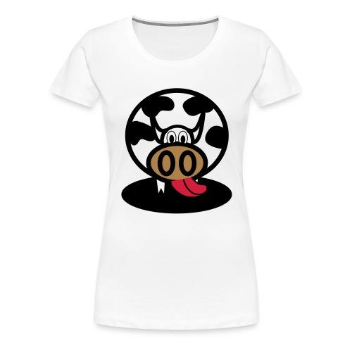 Kuh - Frauen Premium T-Shirt