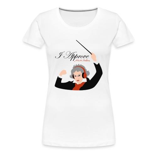 I Approve (Black) - Premium-T-shirt dam