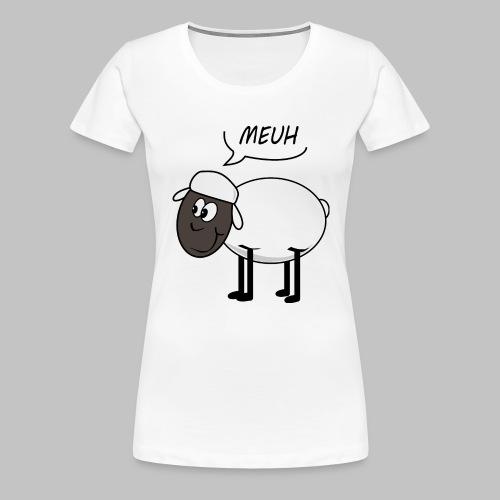 Meuh - Women's Premium T-Shirt