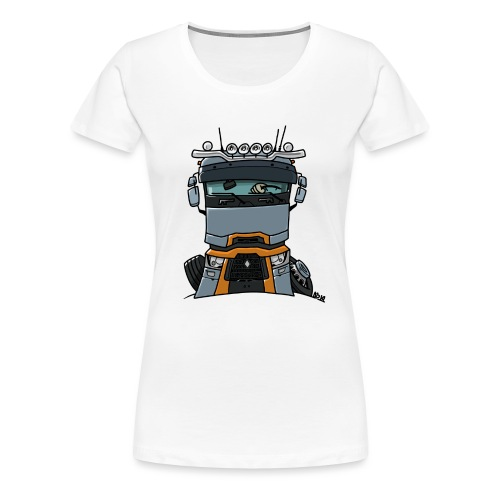 0813 R truck - Vrouwen Premium T-shirt