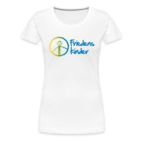 Friedenskinder Logo - Frauen Premium T-Shirt