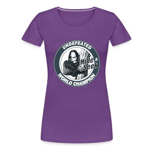 Bigfoot - Women's Premium T-Shirt