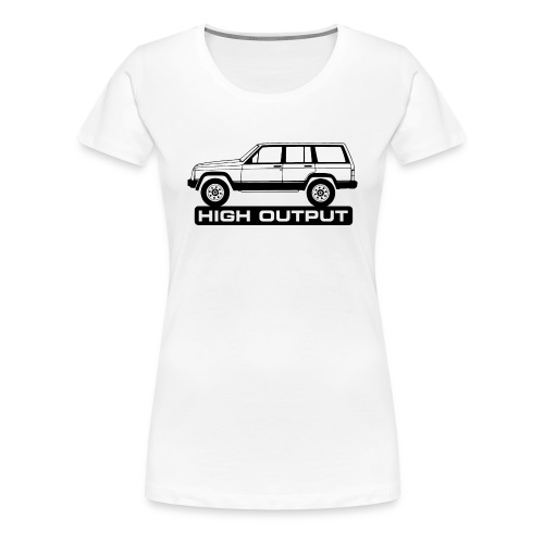 Jeep XJ High Output - Autonaut.com - Women's Premium T-Shirt