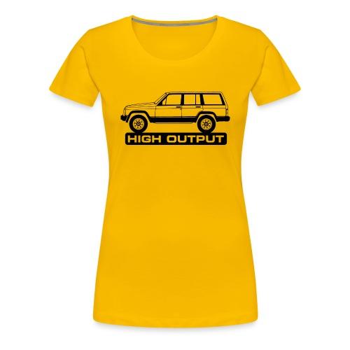 Jeep XJ High Output - Autonaut.com - Women's Premium T-Shirt