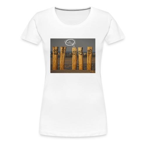 Vollpfosten - Frauen Premium T-Shirt