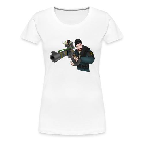 Garry s mod tool gun - T-shirt Premium Femme