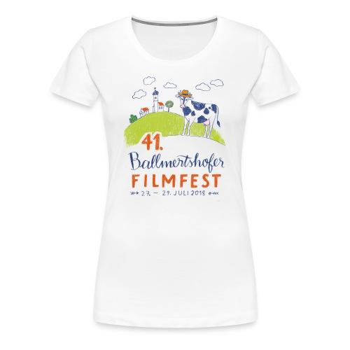41. Filmfest hell - Frauen Premium T-Shirt