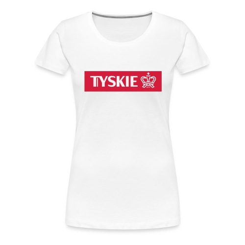 Tyskie Bar - Frauen Premium T-Shirt