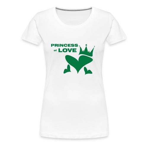 princessoflove - Frauen Premium T-Shirt