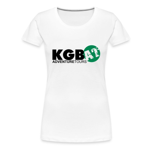 Logo KGB AT Spreadshirt 2 - Frauen Premium T-Shirt