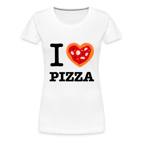 IlovePizza png - T-shirt Premium Femme